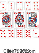 Playing Cards Clipart #1709389 by AtStockIllustration