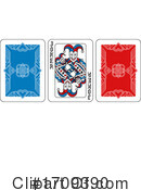 Playing Cards Clipart #1709390 by AtStockIllustration