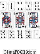 Playing Cards Clipart #1709391 by AtStockIllustration