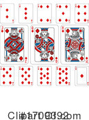 Playing Cards Clipart #1709392 by AtStockIllustration