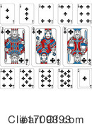 Playing Cards Clipart #1709393 by AtStockIllustration