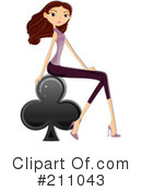 Playing Cards Clipart #211043
