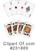 Playing Cards Clipart #231889