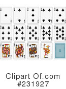Playing Cards Clipart #231927