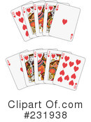 Royalty-Free (RF) playing cards Clipart Illustration #231938