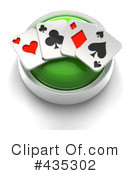 Royalty-Free (RF) playing cards Clipart Illustration #435302