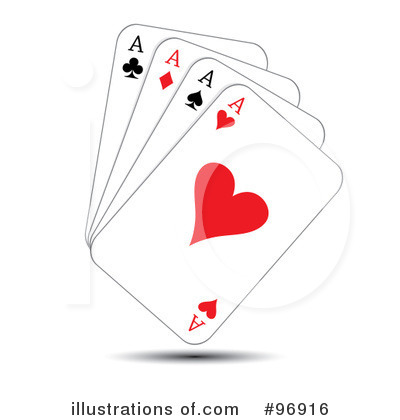 Playing Cards Clipart #96916 - Illustration by MilsiArt