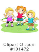 Royalty-Free (RF) playing Clipart Illustration #101472