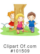 Royalty-Free (RF) playing Clipart Illustration #101509