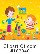 Playing Clipart #103040