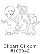 Playing Clipart #103042