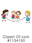 Playing Clipart #1134190 by Graphics RF