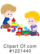 Playing Clipart #1221440 by Alex Bannykh