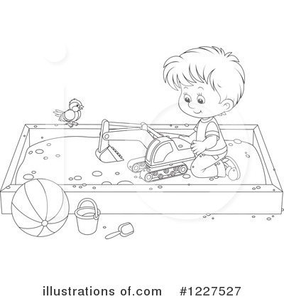 Playground Clipart #1227527 by Alex Bannykh