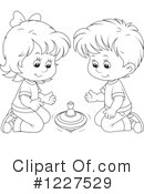 Playing Clipart #1227529 by Alex Bannykh