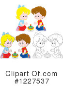 Playing Clipart #1227537 by Alex Bannykh