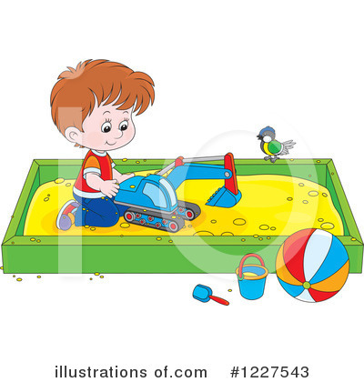Playground Clipart #1227543 by Alex Bannykh