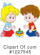 Playing Clipart #1227545 by Alex Bannykh