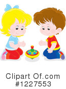 Playing Clipart #1227553 by Alex Bannykh