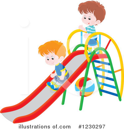 Playground Clipart #1230297 by Alex Bannykh