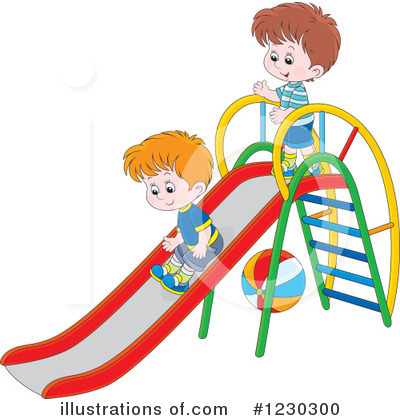 Playground Clipart #1230300 by Alex Bannykh