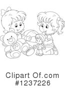 Playing Clipart #1237226 by Alex Bannykh