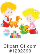 Playing Clipart #1292399 by Alex Bannykh