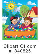Playing Clipart #1340826 by visekart