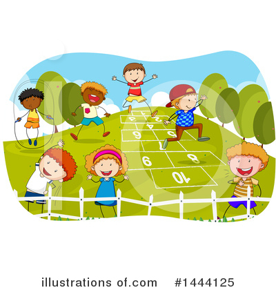 Playground Clipart #1444125 by Graphics RF