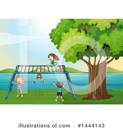 Playground Clipart #1444143 by Graphics RF