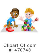 Playing Clipart #1470748 by AtStockIllustration