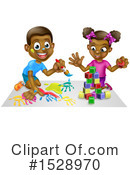 Playing Clipart #1528970 by AtStockIllustration