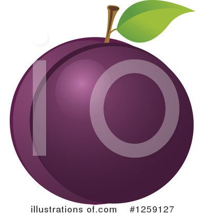 Plums Clipart #1259127 by Pushkin