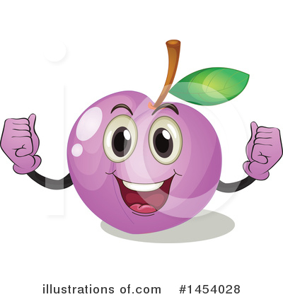 Plums Clipart #1454028 by Graphics RF