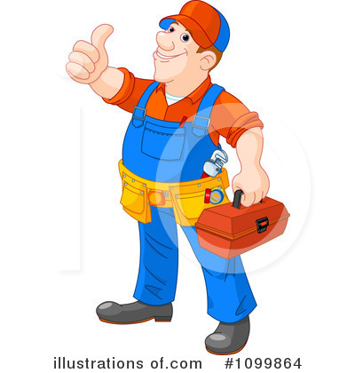Worker Clipart #1099864 by Pushkin