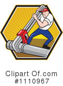 Plumber Clipart #1110967 by patrimonio