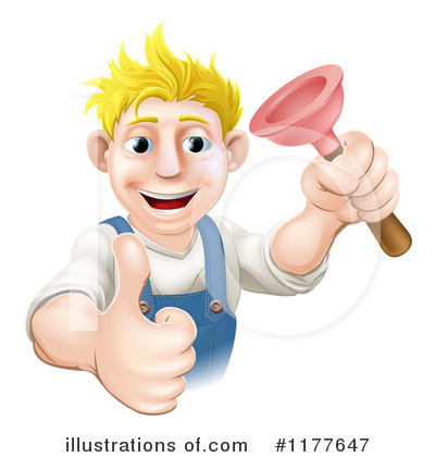 Plumber Clipart #1177647 by AtStockIllustration