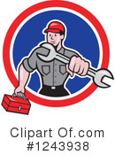 Plumber Clipart #1243938 by patrimonio