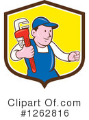 Plumber Clipart #1262816 by patrimonio