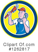 Plumber Clipart #1262817 by patrimonio