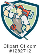 Plumber Clipart #1282712 by patrimonio
