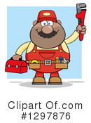 Plumber Clipart #1297876 by Hit Toon