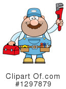 Plumber Clipart #1297879 by Hit Toon