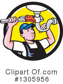 Plumber Clipart #1305956 by patrimonio