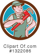 Plumber Clipart #1322086 by patrimonio