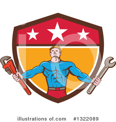 Plumber Clipart #1322089 by patrimonio