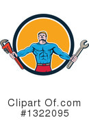 Plumber Clipart #1322095 by patrimonio