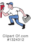 Plumber Clipart #1324312 by patrimonio