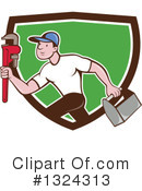 Plumber Clipart #1324313 by patrimonio