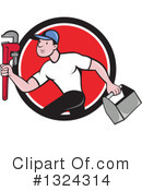 Plumber Clipart #1324314 by patrimonio